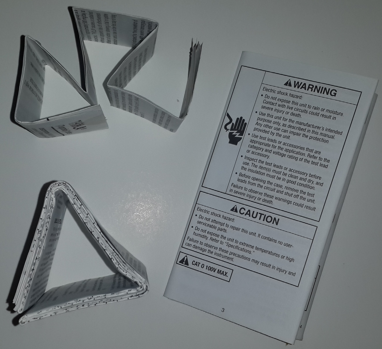 Package Inserts-IFUs, DFUs,Minifolds