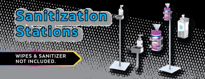 Hand Sanitizer Station Stands