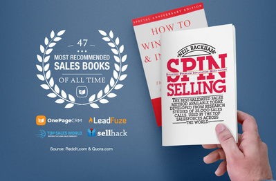 The 47 most recommended sales books of all time
