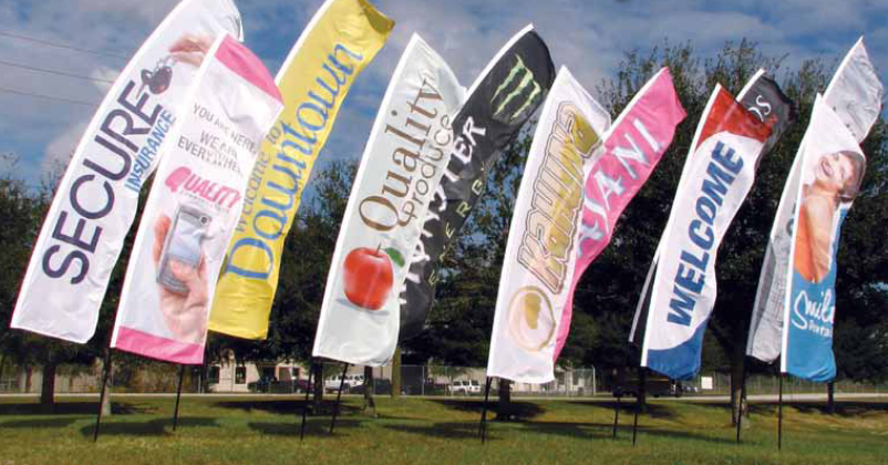 Signs / Retractable Banners / Flags / Tents