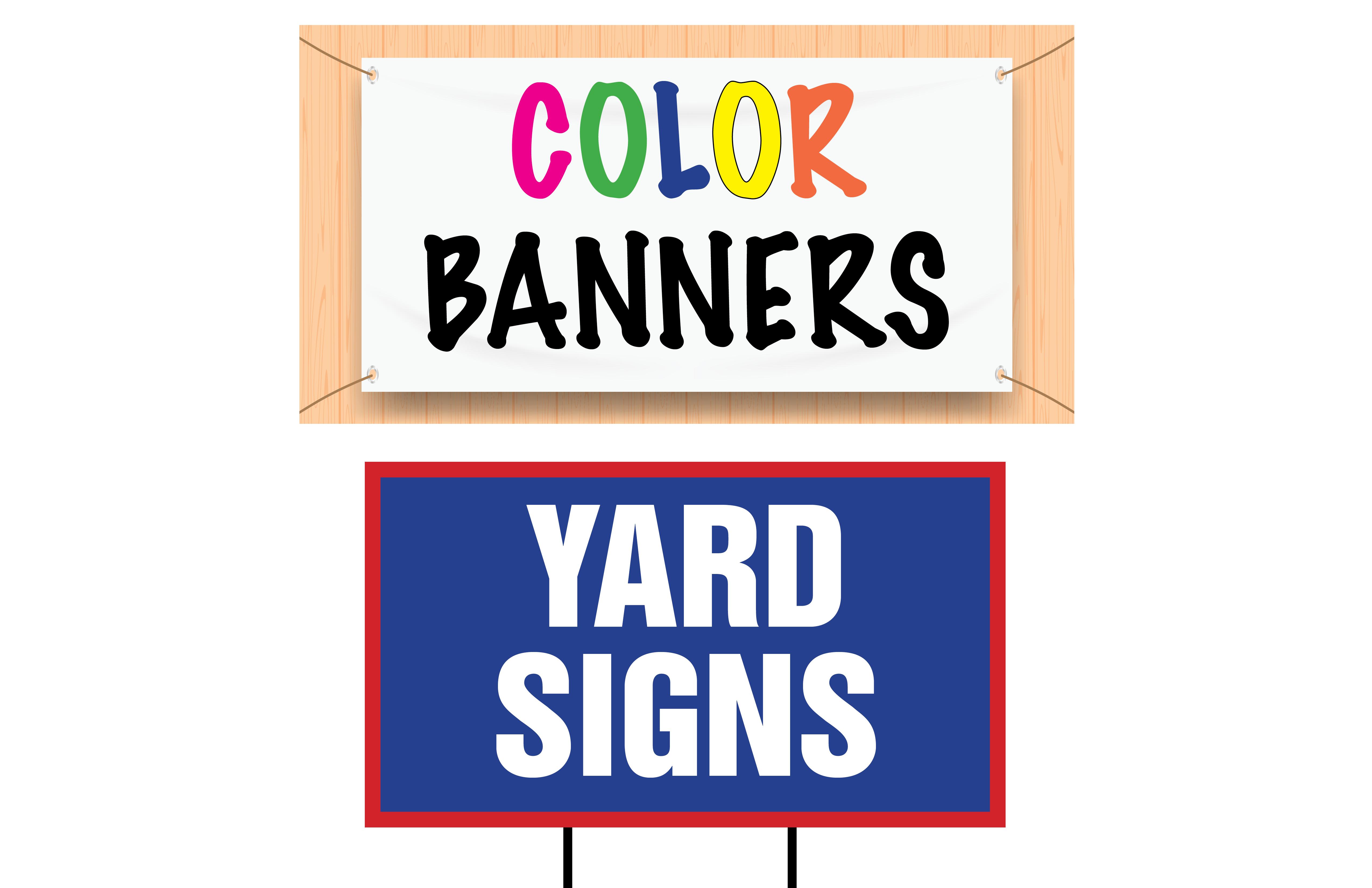 Vinyl Banners & Coroplast Signs