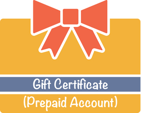 Gift Certificate (Prepaid Account)