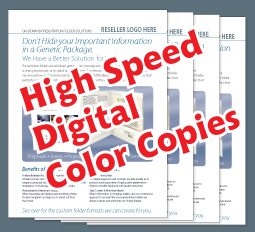 High Speed Digital Color Copies