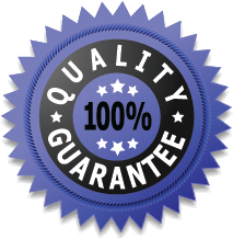 Our Guarantee Seal