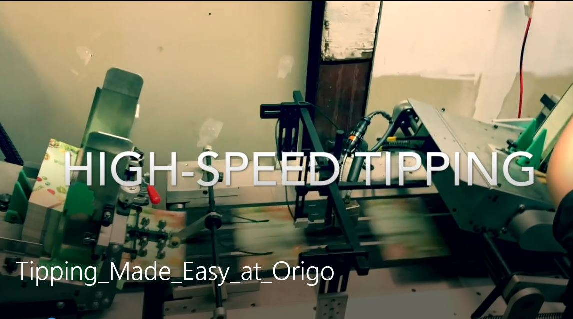 Tipping - High Speed Card Affixing