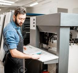 High Volume Offset Printing