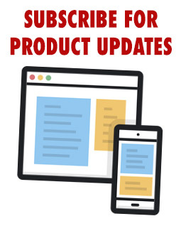 Subscribe for Product Updates