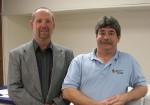 Bert and Gary at Business Card Factory of Colorado