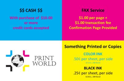 color copies, fax, copies, copy