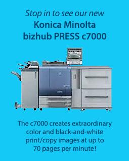 Konica Minolta bizhub PRESS c7000