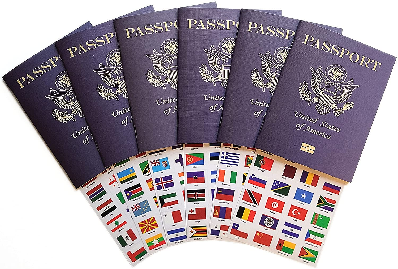 Pretend Passports