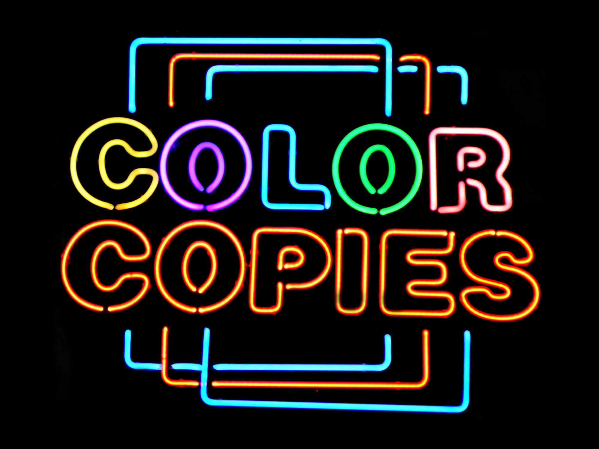 Copies- Color