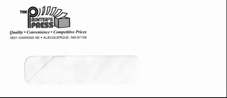 Envelopes- Commercial