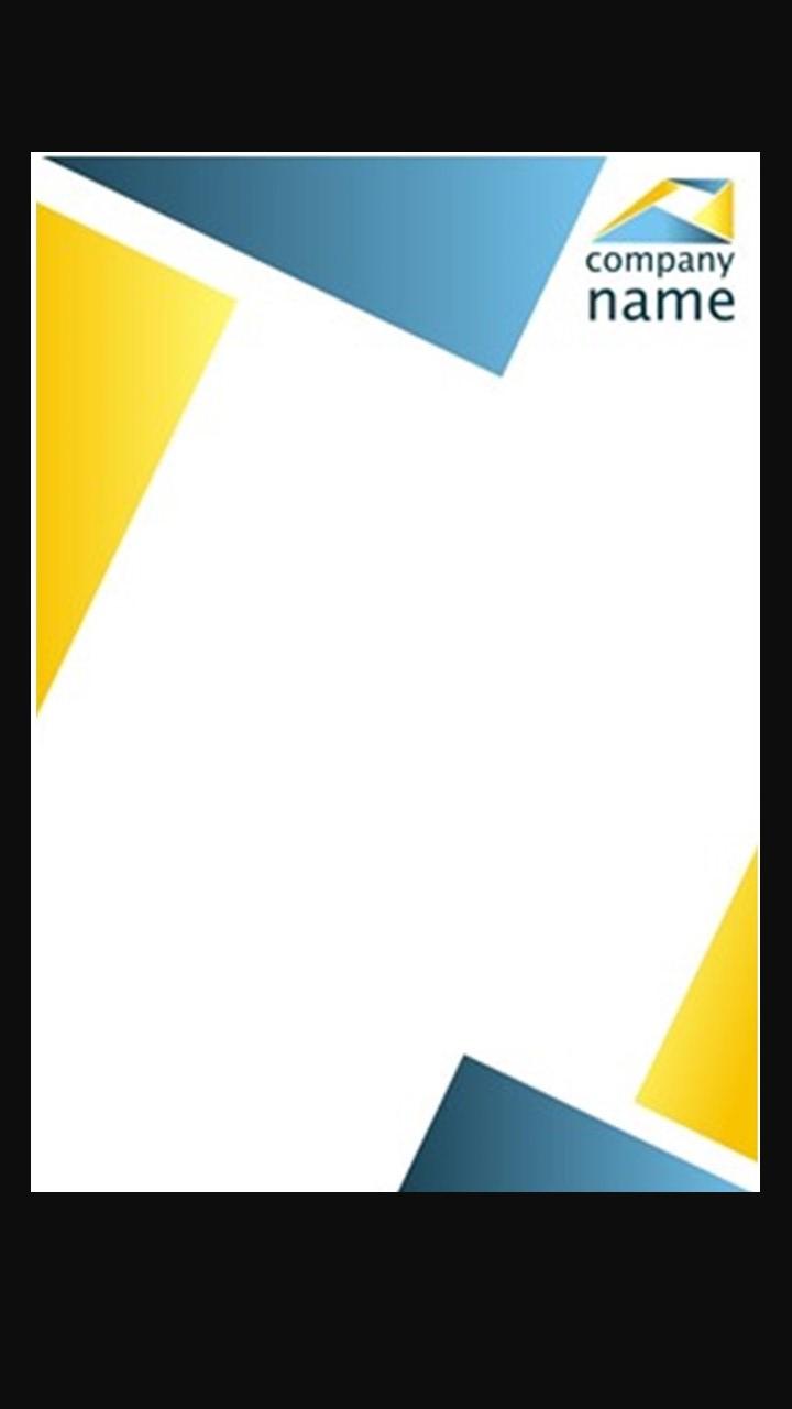 Letterhead- Full Color Premium