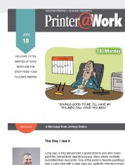 Printer@Work: Grow Your Online Community with Print!