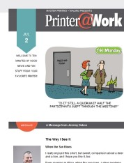 Printer@Work: Better Communication Starts With These Tips...