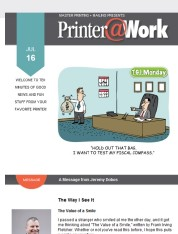 Printer@Work: Affordable Ways to Express Your Thanks!