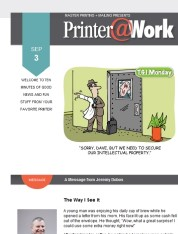 Printer@Work: Creative and Affordable Ways to Market Your Business
