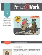 Tandem Graphics, Your local Printer