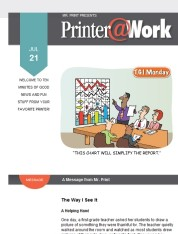 Printer@Work: Best Time to Post on Social Media and More!