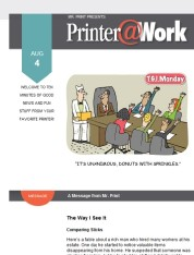 Printer@Work: How to Maximize Your Impact