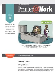 Printer@Work: Wish to Boost Your Instagram Followers?