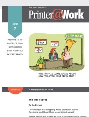 Printer@Work: The Return of QR Codes and Other Tips to Stay Front-of-Mind with Your Customers