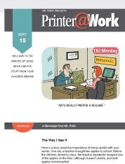 Printer@Work: Improve Your Marketing Strategy and Messaging with These Tips!