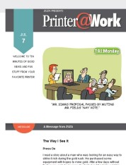 Printer@Work: 7 Tips to Boost Your Marketing Plan
