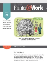 Printer@Work: Creative Ways to Stand Apart From Your Competition