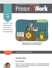 Printer@Work: Increase Interactions with Print!
