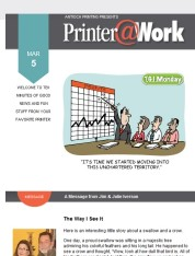 Printer@Work: 6 Tips for a Successful Giveaway Contest