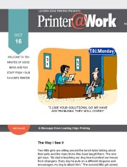 Printer@Work: 7 Solutions to Common WiFi Troubles, Entice with a Business Summary