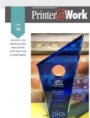 Printer@Work: PICA Award Winner!