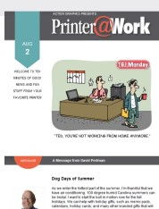 Printer@Work: Promote Your Popularity Today!