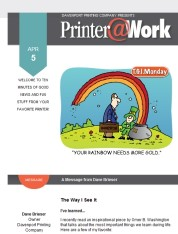 Printer@Work: 6 Tips to Boost Customer Loyalty, Time-Saving Electronic Signatures