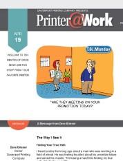 Printer@Work: The Flyer/Coupon Combo, Eye-Stopping Headlines