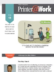 Printer@Work: How Many Hashtags Are Too Many?