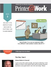 Printer@Work: 5 Tips to Ensure Your Mailing Gets Noticed!
