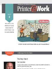 Printer@Work: Ensure Your Messaging Gets Noticed!