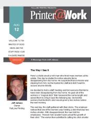 Printer@Work: The Safe Side
