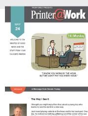 Printer@Work: Creative Ways to Connect