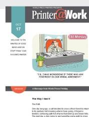 Printer@Work: 7 Marketing Habits to Break