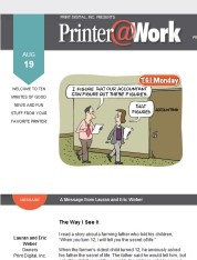 Printer@Work: Who are Your Heroes?