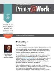 The Way I Blog It