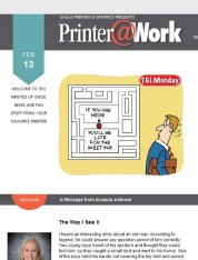 Eagle Printer@Work: Partner Up with Your Marketing!