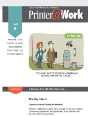 Printer@Work: Image Optimization, Belly Bands, and more!