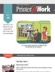 Printer@Work: 9 Tips for Creating Your Next Success Story