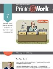 Printer@Work newsletter: Bailey Printing is Open