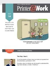 Printer@Work Happy Monday!